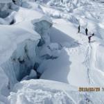 Skitour von der Dufourspitze